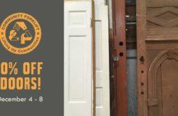 Save 50% on Doors