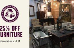 Weekend Sale: 25% Off Furniture