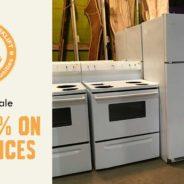 January Sale: 25% off Appliances