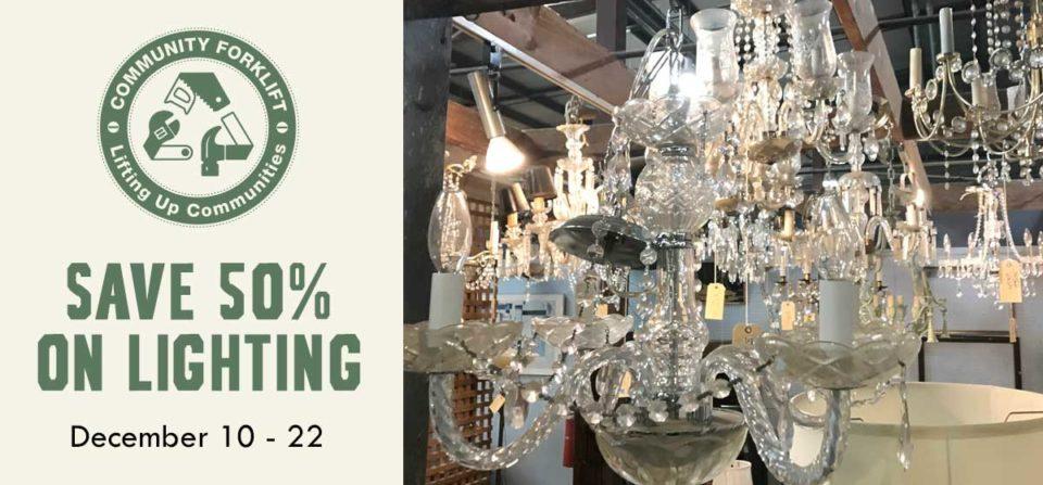 Save 50% on Lighting