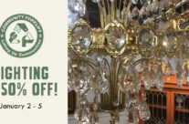 Flash Sale: 50% Off Lighting