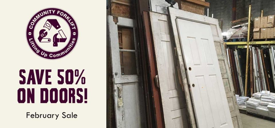 February Sale: Save 50% on Doors