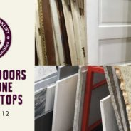 Save 40% on Doors and Stone Counter Tops