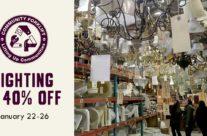 Save 40% on Lighting