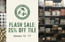 Flash Sale: Save 25% on Tile
