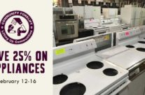 This week: 25% off appliances
