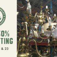 Weekend Sale: Lighting is 50% off!