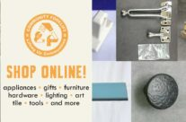 Shop Online: vintage tile, vintage tools, hardware, and more