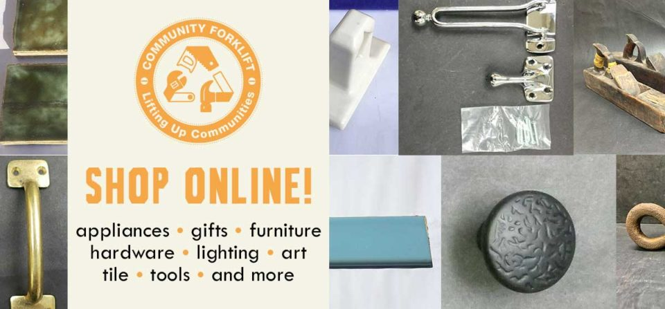 Shop Online: vintage tile, vintage tools, hardware, and more