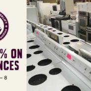 40% off Appliances!