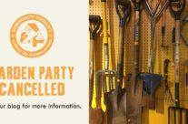 Garden Party cancelled