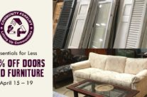 Essentials for less: 40% off Doors and Furniture