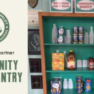 From Bookcase to Community Food Pantry