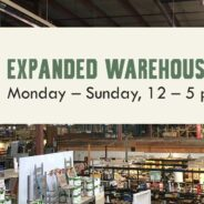 New Expanded Warehouse Hours