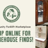 Bringing the funk and flair of Community Forklift to you at home