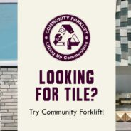 Looking for tile? Check out our online stores and warehouse!