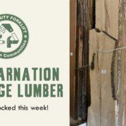 Treincarnation Live Edge Lumber: newly restocked!