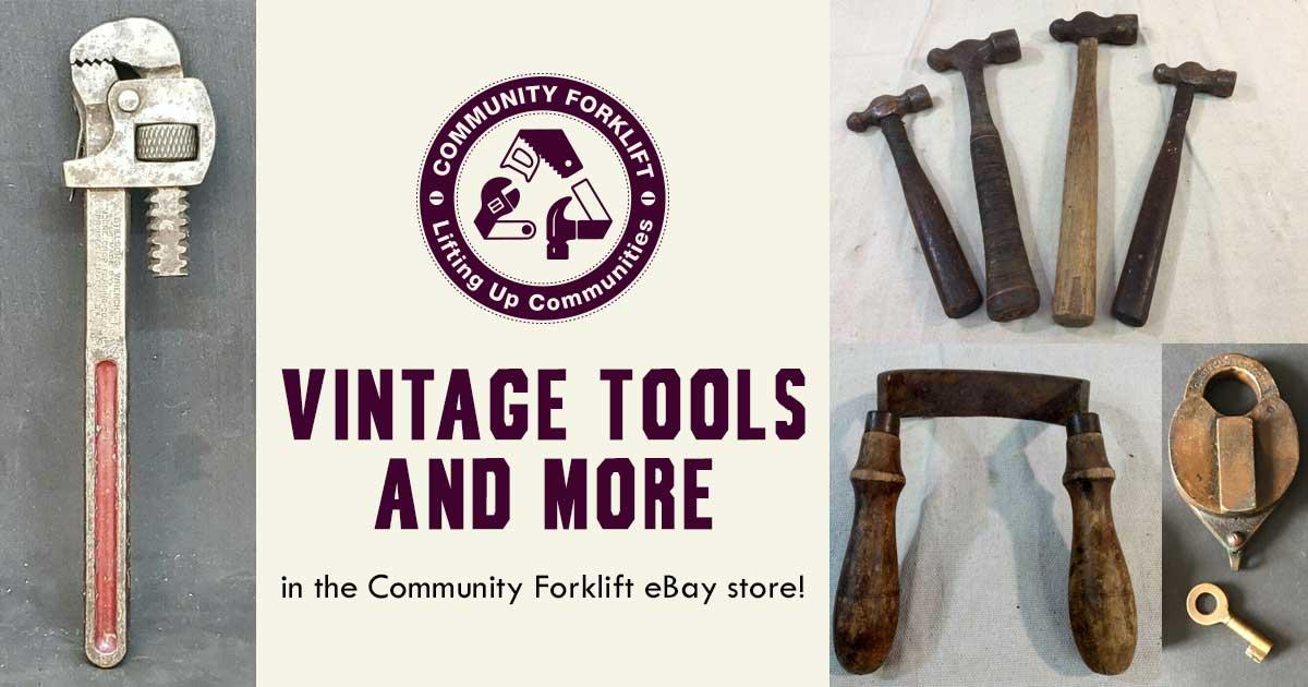 Vintage Tools In The Community Forklift Ebay Store Community Forklift