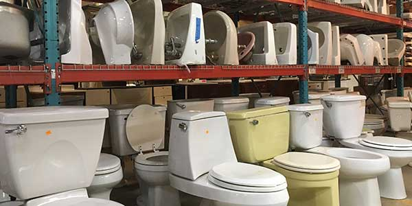 toilets and sinks