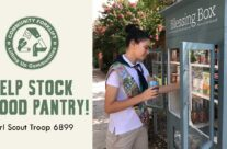 Help stock a local food pantry