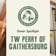 Donor Spotlight: TW Perry of Gaithersburg