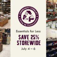 Essentials for Less: 25% off Storewide
