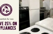 Essentials for Less: Save 25% on Appliances