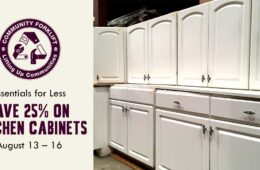 Essentials for Less: 25% off Kitchen Cabinets