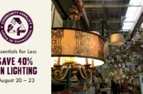 Essentials for Less: Save 40% on Light Fixtures