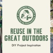 Reuse in the great outdoors!