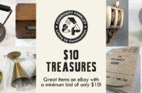 $10 Treasures in the Community Forklift eBay store!