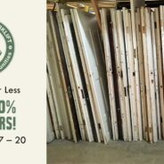 You can save 40% on modern and vintage doors!