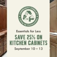 Calling all cooks! Save 25% on Kitchen Cabinets