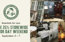 Essentials for Less: Save 25% Storewide this Labor Day weekend
