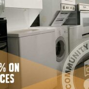 Save 25% on modern and vintage appliances this weekend!