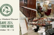 Storewide discount: save 25% this holiday weekend!