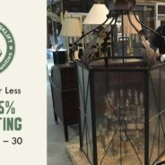 Lighting — big and small — is 25% off during the month of November!