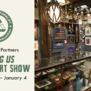 Lifting US: Veteran Art Show opens today at Community Forklift!
