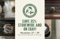 Save 25% on modern and vintage items in the reuse warehouse and on eBay!