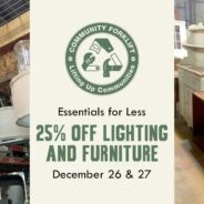 Save 25% on lighting & furniture this holiday weekend!
