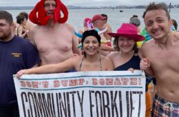 Freezin' for a reason: help us fight climate change!