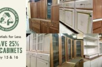 Save 25% on Kitchen Cabinets, School Cabinets, and Single Cabinets