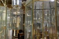 Creative Reuse Ideas For Vintage Brass And Glass Lights!