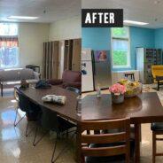 A Fabulous Teacher's Lounge Transformation