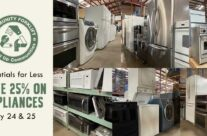 Save 25% on appliances this weekend!