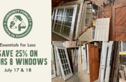 Save 25% on doors and windows this weekend!