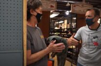 Reuse, community support, and salvaged gravestones: a visit from WUSA9's Adam Longo