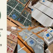 Beautiful salvaged tile is 25% off this weekend!