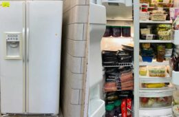 Kitchen appliance reuse helps alleviate food insecurity