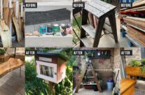 Before & After: Upcycling projects created with salvaged materials!